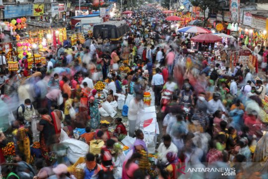 Lonjakan harga bayangi kegiatan konsumen pada musim festival India