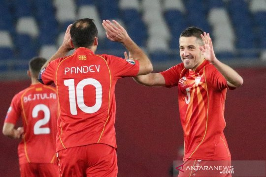 Goran Pandev antar Makedonia debut di putaran final EURO