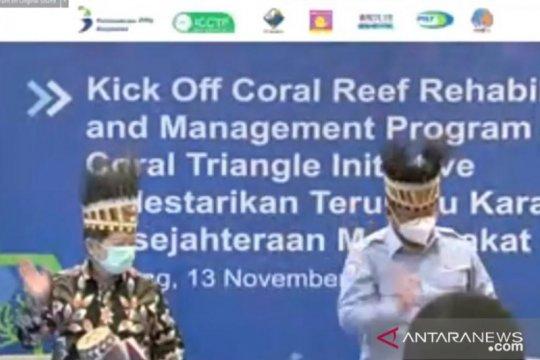 Konservasi terumbu karang COREMAP-CTI resmi dimulai di Raja Ampat