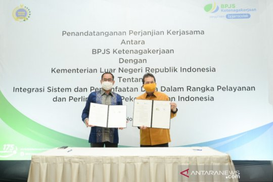 BPJAMSOSTEK dan Kemenlu sepakati integrasi sistem perlindungan PMI