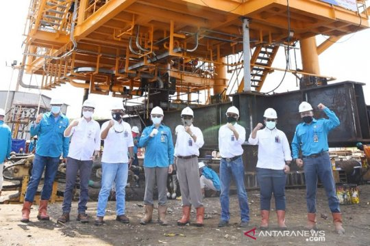 "PGN Saka laksanakan pemindahan ""top side platform"" Lapangan Sidayu"
