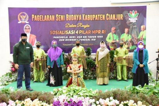 MPR sosialisasi Empat Pilar lewat seni calung
