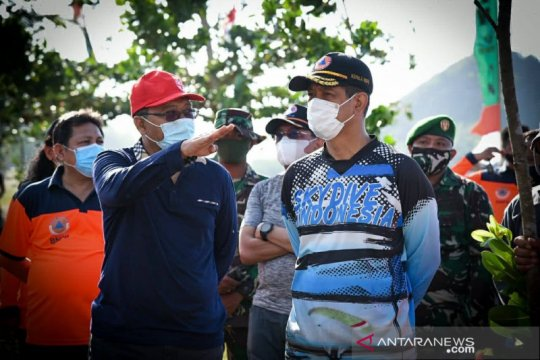 Kepala BNPB canangkan penghijauan di KEK Mandalika
