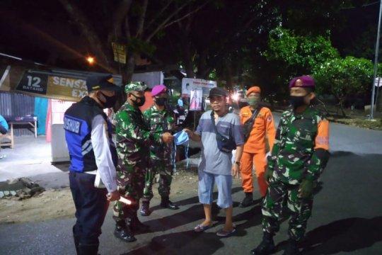 Satgas COVID-19 patroli malam di Bandarlampung