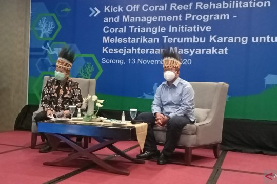 Dua menteri hadiri pembukaan program COREMAP-CTI Papua Barat