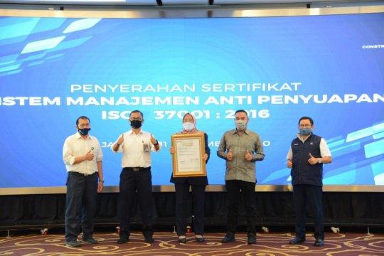 PT PP resmi terima sertifikat SMAP