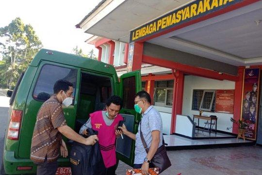 Tiba di Ambon, Ridwan Pattilow langsung dijebloskan ke penjara