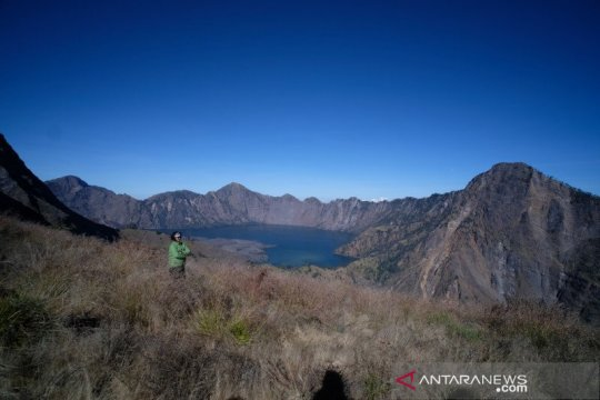 Kuota wisatawan ke Gunung Rinjani Lombok ditambah