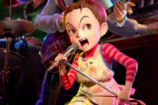 """Kolaborasi Sherina bareng musisi Jepang di film """"Earwig and the Witch"""""""