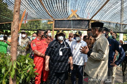 Menteri LHK resmikan Kebun Bibit Desa di Riau