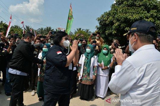 Menteri LHK Siti Nurbaya bersyukur Riau bebas asap Karhutla