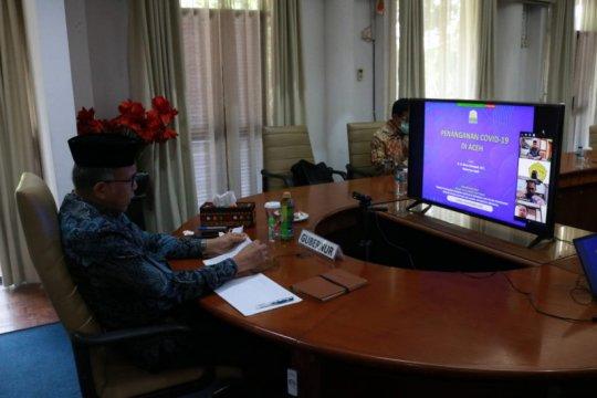 Gubernur: Penanganan COVID-19 di Aceh tiga gelombang