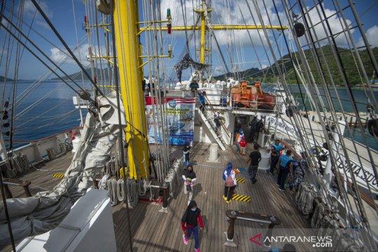 Open ship KRI Bima Suci di Natuna