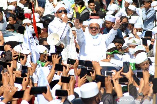 Polda Jabar akan panggil Rizieq terkait kerumunan di Megamendung