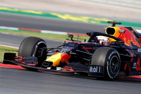 Verstappen, Albon bawa Red Bull di puncak FP1 GP Turki