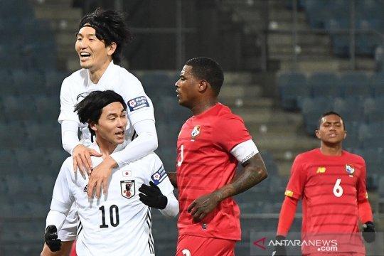 Penalti Takumi Minamino antar Jepang menang lawan Panama