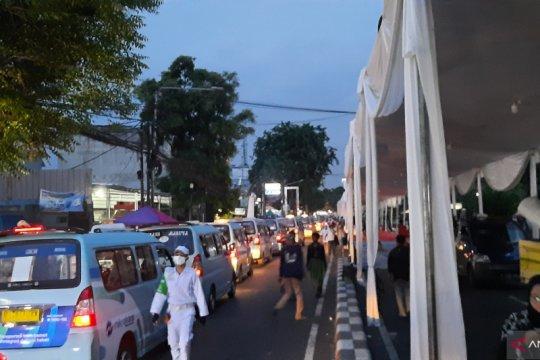 Lalu lintas menuju Slipi mulai dialihkan ke Kemanggisan