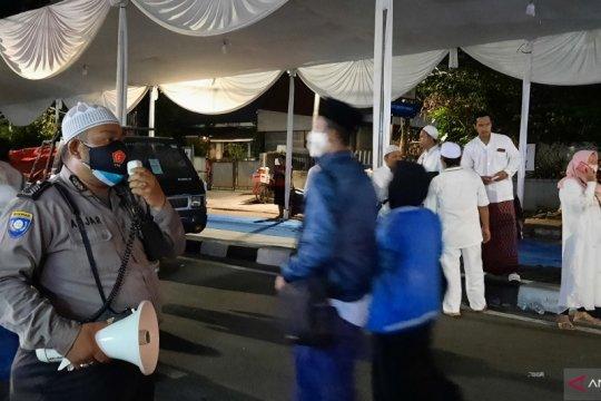 Jamaah maulid di Petamburan diingatkan terapkan protokol kesehatan