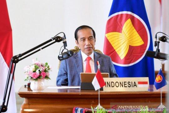 Jokowi dorong penguatan kemitraan ASEAN-Selandia Baru di Pasifik