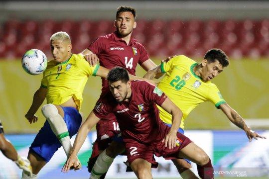 """Brazil bersiap """"perang"""" dengan Uruguay seusai atasi Venezuela 1-0"""