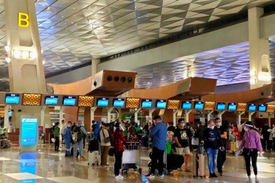 Pasar penerbangan Bandara Soekarno-Hatta dalam tren positif