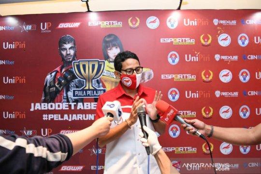 Bagi Sandiaga esports berpotensi bangkitkan perekonomian