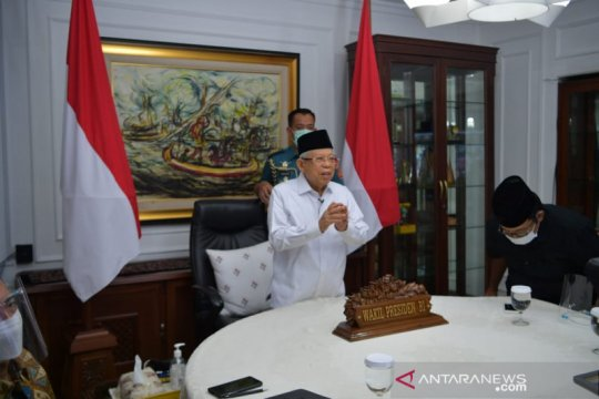 Wapres harap kawasan industri halal tarik perhatian investor asing