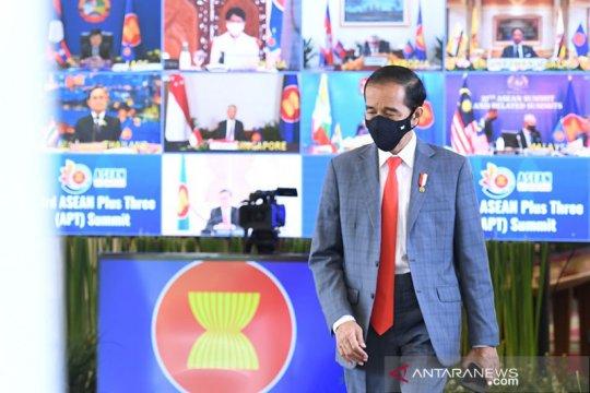 Presiden Jokowi dorong mekanisme ketahanan kesehatan dalam KTT APT