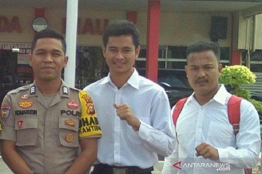 Dua putera Suku Talang Mamak di Riau berhasil jadi bintara polisi