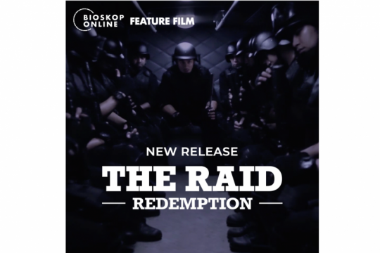 "Bioskop online akan hadirkan ""The Raid 1 &2"", tiket dibanderol Rp5000"
