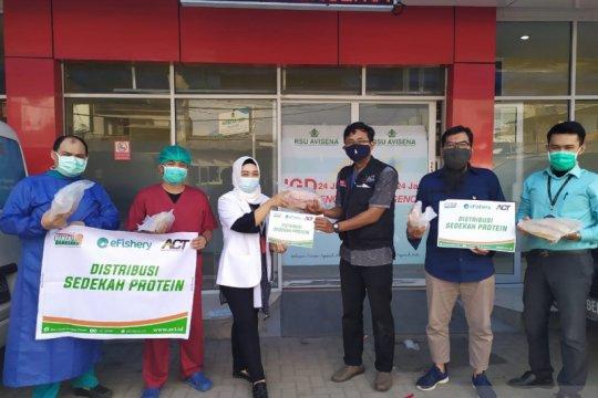 BerIkan untuk Indonesia, bantu nutrisi nakes saat pandemi COVID-19