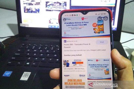 BRI fasilitasi web pasar di 12 pasar rakyat Kulon Progo
