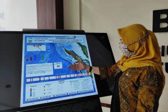 Pekan kedua November di Sumut- Aceh terjadi 26 kali gempa