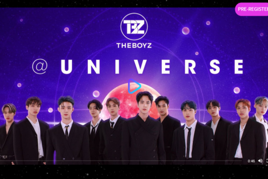 The Boyz, MONSTA X dan IZ*ONE gabung di platform K-pop Universe