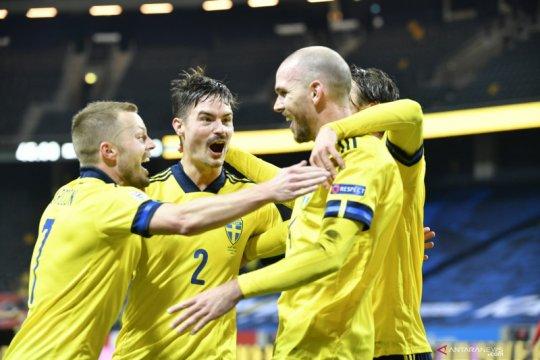 Swedia hindari degradasi setelah taklukkan Krosia 2-1