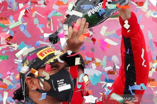 Kemenangan di Grand Prix Turki antarkan Hamilton raih juara dunia F1 2020