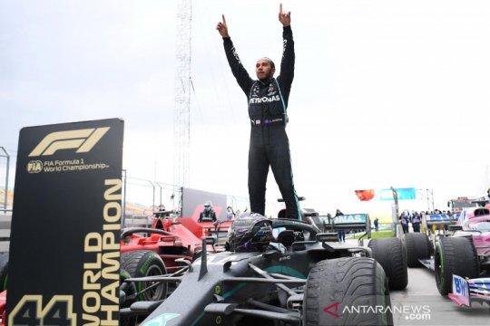 Hamilton teken kontrak baru dengan Mercedes untuk 2021