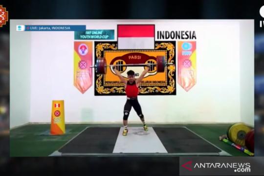 Rizky Juniansyah sabet tiga emas di Kejuaraan Dunia Remaja Virtual