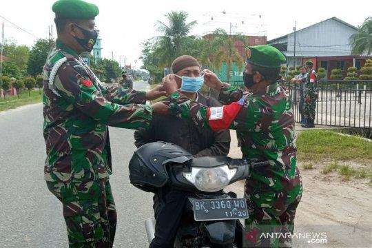 Paldam I/BB gelar operasi pendisiplinan prokes di Deli Serdang