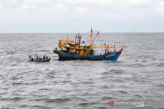 Satgas 115 ringkus kapal ikan asing di perairan Pulau Berhala