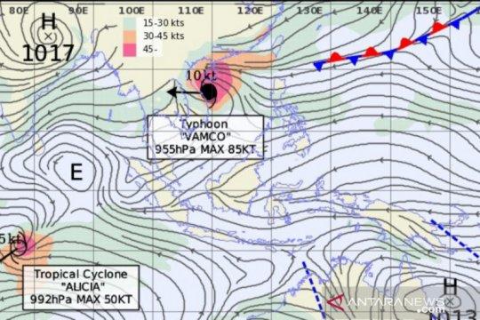 Hujan landa Sumut akibat Sirkulasi Eddy di Sumatera