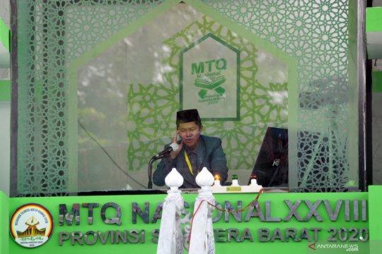 Pelaksanaan MTQ Nasional ke-28 di Sumatera Barat