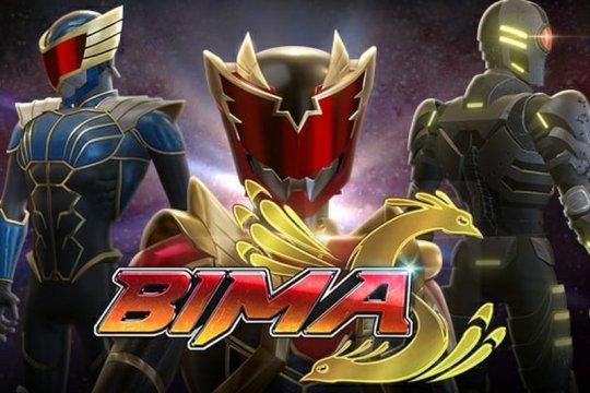 """Serial animasi 3D superhero Indonesia """"Bima S"""" tayang di Vision+"""