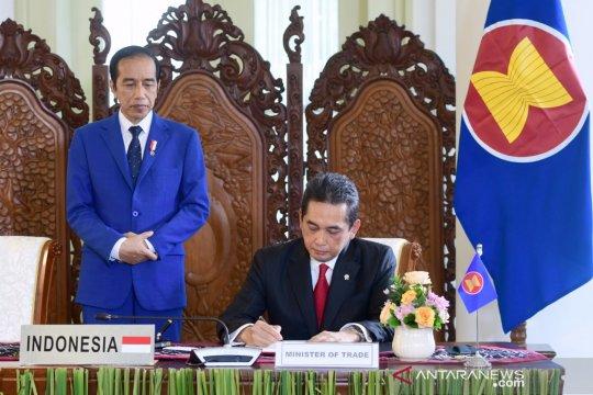 Jokowi: RCEP komitmen perdamaian, stabilitas, sejahtera di kawasan