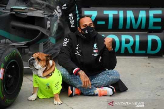 Perjalanan hidup Hamilton hingga gelar juara dunia ketujuhnya
