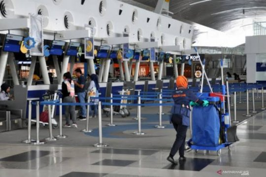 Bandara Kualanamu sudah layani semua rute domestik di tengah COVID-19