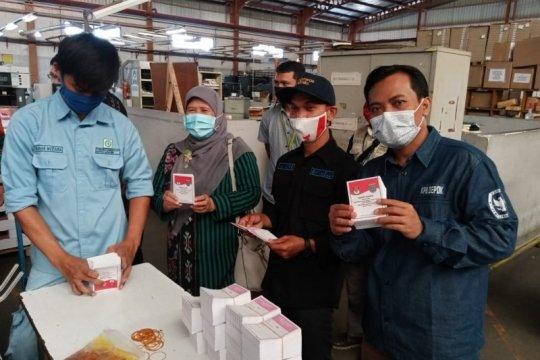 KPU Depok pastikan logistik surat suara aman