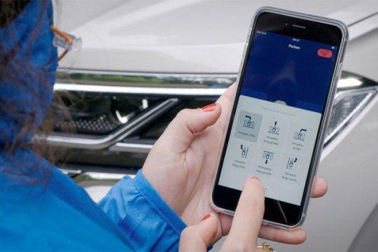 VW kenalkan parkir otomatis via smartphone di SUV Touareg