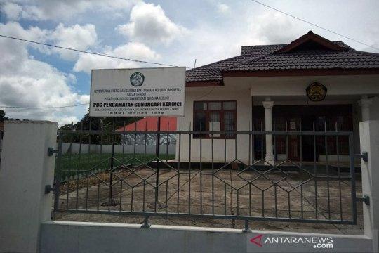 Tambahan stasiun seismik dipasang di Gunung Kerinci