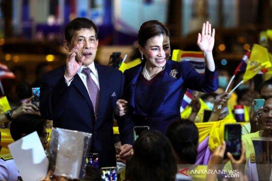 Pendukung kerajaan Thailand minta konstitusi tak diubah